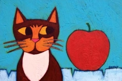 Mia Meow and the Apple