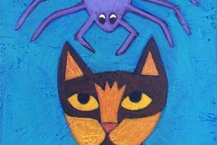 """Mia Meow and the Spider"""
